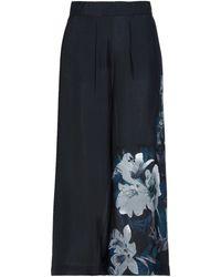 Desigual Cropped Trousers - Multicolour