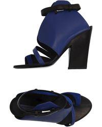 Emanuel Ungaro - Toe Strap Sandals - Lyst