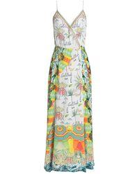 Camilla Langes Kleid - Weiß
