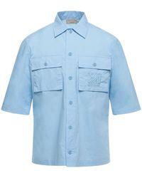 Maison Kitsuné Camisa - Azul