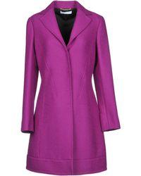 Versace Coat - Purple