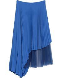 Jucca Falda a media pierna - Azul