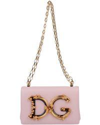 Dolce & Gabbana Shoulder Bag - Pink