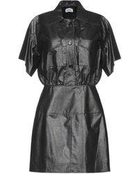 Courreges Kurzes Kleid - Schwarz