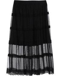 Pinko Midi Skirt - Black
