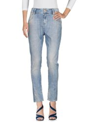 Amy Gee - Denim Trousers - Lyst