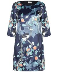 Lavand Short Dress - Blue