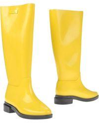 Melissa Boots - Yellow