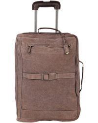 Brunello Cucinelli Wheeled luggage - Brown