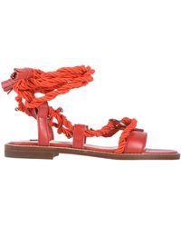 Pinko Sandals - Red