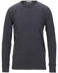 Grey Daniele Alessandrini - T-shirt - Lyst