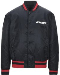 Versace Reversible Bomber Jacket - Black