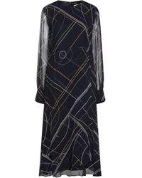 Sportmax Code Midi Dress - Blue