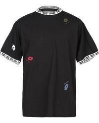 Damir Doma X Lotto T-shirts - Schwarz
