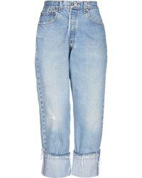 Kendall + Kylie Capri jeans - Blu