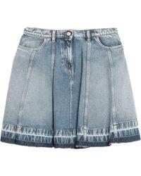 Emporio Armani Denim Skirt - Blue