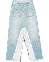 Givenchy Jupe en jean - Bleu