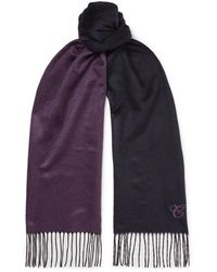 Canali Scarf - Purple