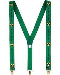 Gosha Rubchinskiy Braces - Green