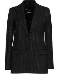 Department 5 Suit Jacket - Black