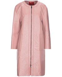 MAX&Co. Overcoat - Pink
