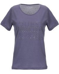 Guess T-shirt - Purple