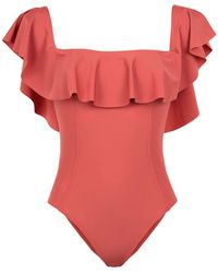 8 by YOOX One-piece Swimsuit - Red
