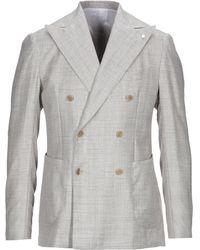 Luigi Bianchi Mantova Suit Jacket - Natural