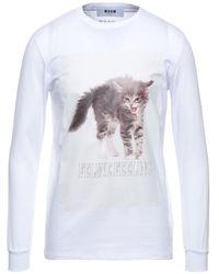 MSGM T-shirts - Weiß