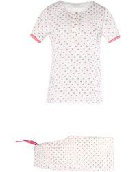 Verdissima Pyjama - Blanc