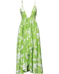 BROGNANO Midi Dress - Green