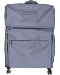 Mandarina Duck Wheeled Luggage - Blue