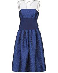 P.A.R.O.S.H. Vestido midi - Azul