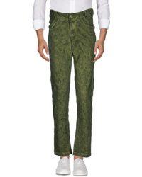 Telfar Denim Trousers - Green