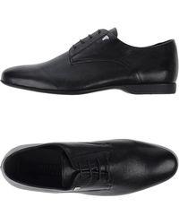 Versace Zapatos de cordones - Negro