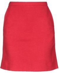 Majestic Filatures Midi Skirt - Red