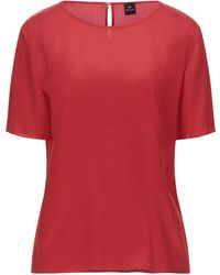 PS by Paul Smith Blusa - Rojo
