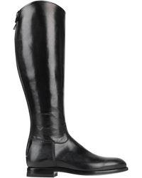 Alberto Fasciani Knee Boots - Black