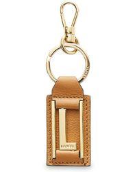 Lancel Key Ring - Metallic