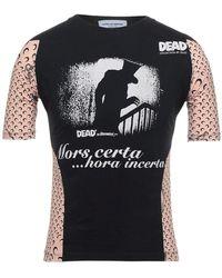 Marine Serre Camiseta - Negro