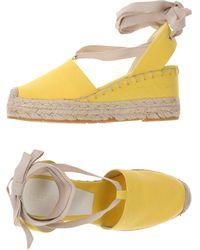 Ralph Lauren Collection Espadrilles - Yellow