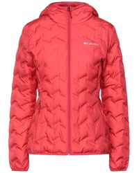 Columbia Down Jacket - Red