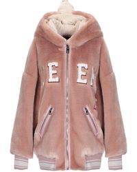 Dolce & Gabbana Teddy Coat - Pink