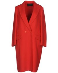 Cedric Charlier Coat - Red