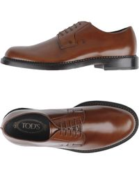 Tod's Stringate - Marrone