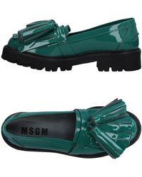 MSGM Mocassino - Verde