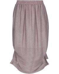 Vivienne Westwood Anglomania 3/4 Length Skirt - Purple