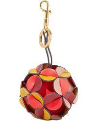 Anya Hindmarch Key Ring - Red