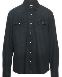 Wrangler Denim Shirt - Black