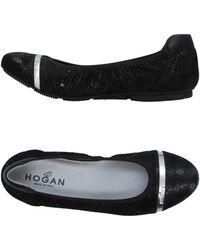 Hogan - Ballerines - Lyst